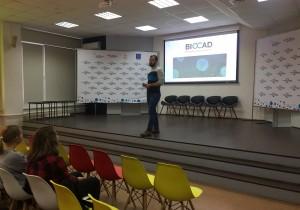 В Обнинском институте атомной энергетики НИЯУ МИФИ прошла встреча школьников с амбассадором BIOCAD